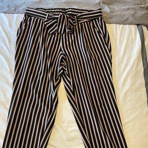 Torrid Self Tie Tapered Pants Size 1X